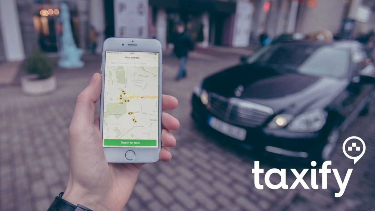 Taxify appka